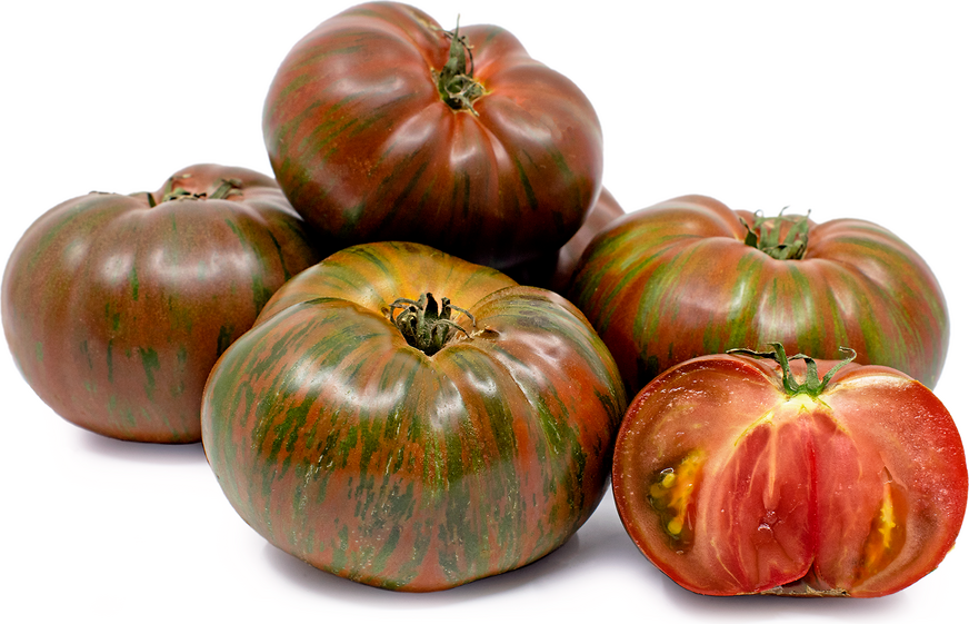 Heirloom Black Zebra Tomatoes picture