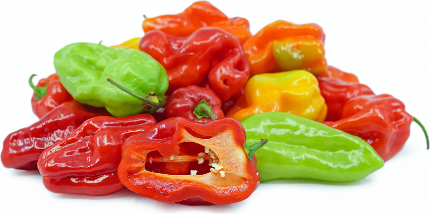 Sweet Habanero Chile Peppers picture