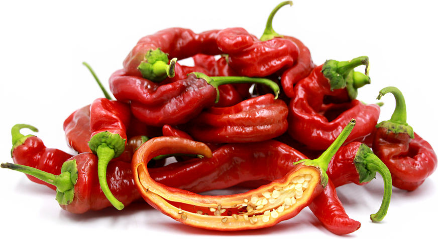 Italian Long Sweet Red Chile Peppers picture