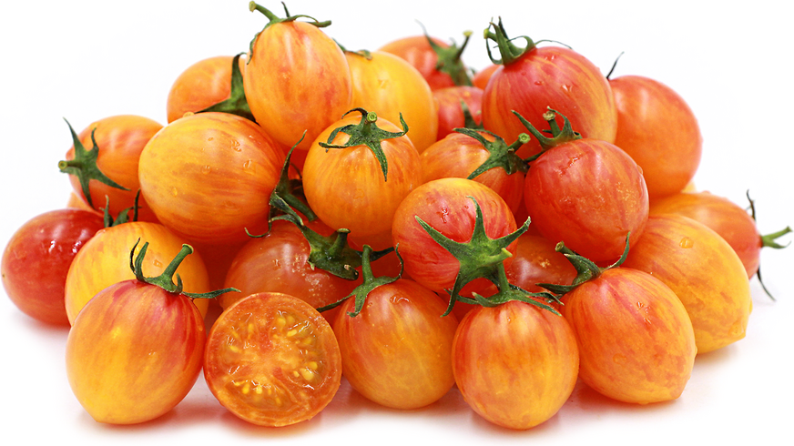 Sunrise Bumblebee Cherry Tomatoes picture