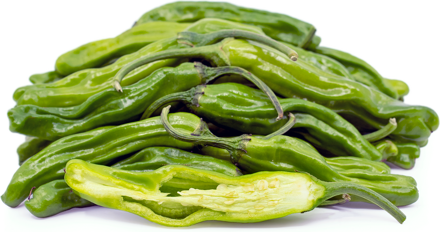 Green Shishito Chile Peppers picture