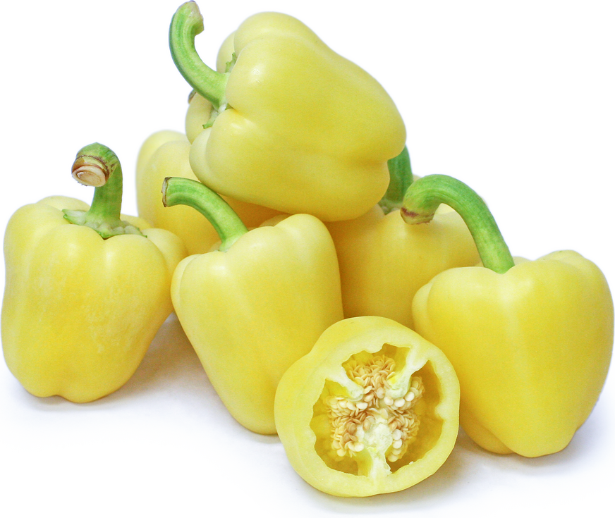 White Holland Bell Peppers