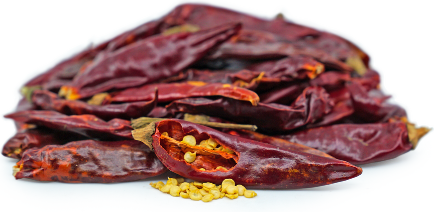 Dried Japanese Chile Peppers picture