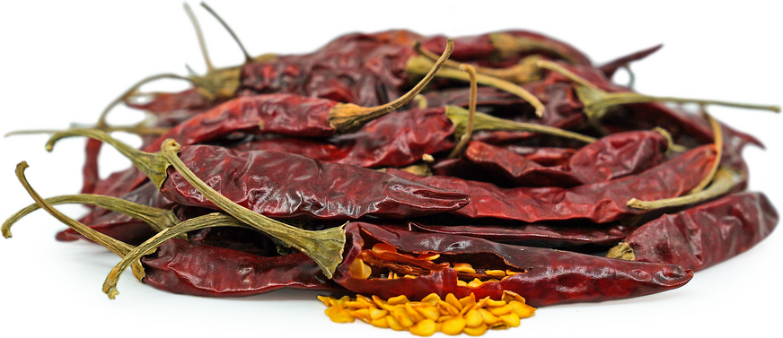 Dried Arbol Chile Peppers picture