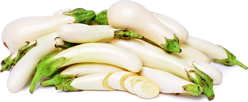 White Japanese Eggplant picture