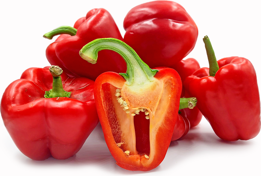 Red Holland Bell Peppers