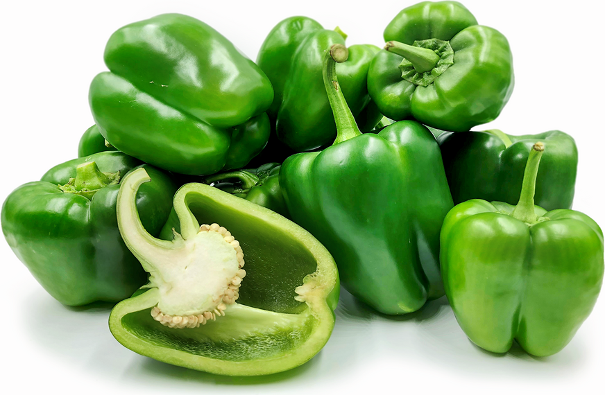 Green Holland Bell Peppers picture