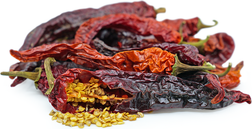 Dried Cayenne Chile Peppers picture